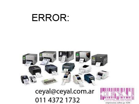 ERROR: