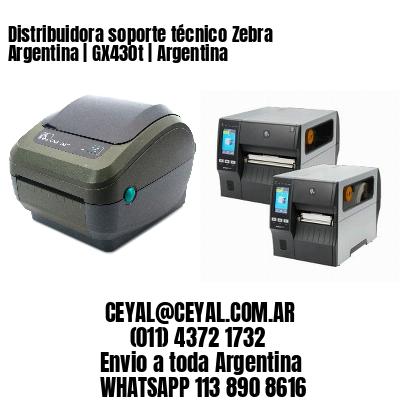 Distribuidora soporte técnico Zebra Argentina | GX430t | Argentina