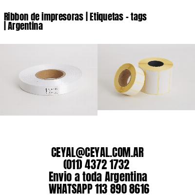Ribbon de impresoras | Etiquetas - tags | Argentina