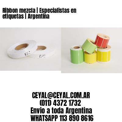 Ribbon mezcla | Especialistas en etiquetas | Argentina