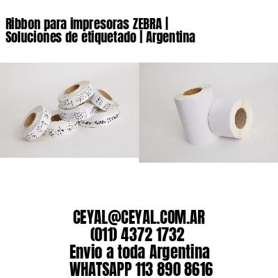 Ribbon para impresoras ZEBRA | Soluciones de etiquetado | Argentina