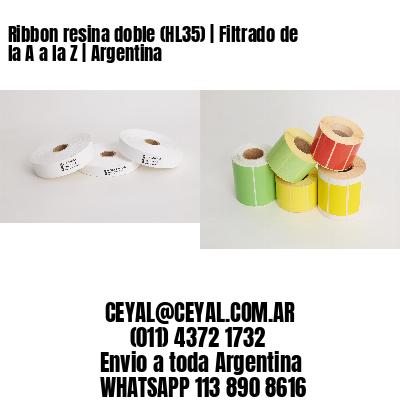 Ribbon resina doble (HL35)   Filtrado de la A a la Z   Argentina