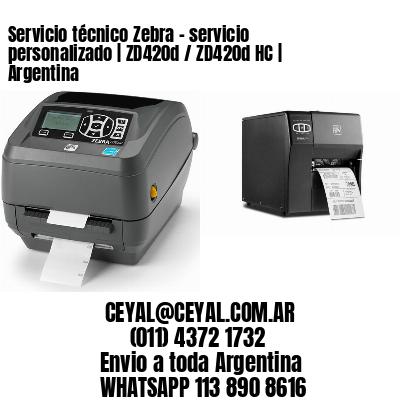 Servicio técnico Zebra – servicio personalizado | ZD420d / ZD420d‑HC | Argentina
