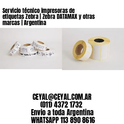 Servicio técnico impresoras de etiquetas Zebra | Zebra DATAMAX y otras marcas | Argentina