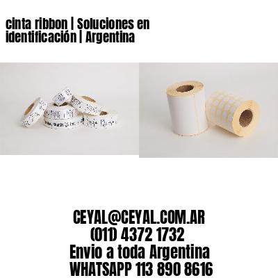 cinta ribbon | Soluciones en identificación | Argentina