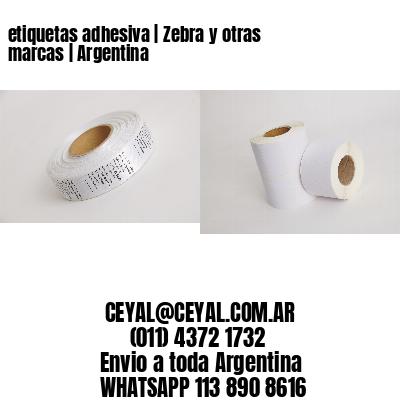 etiquetas adhesiva   Zebra y otras marcas   Argentina