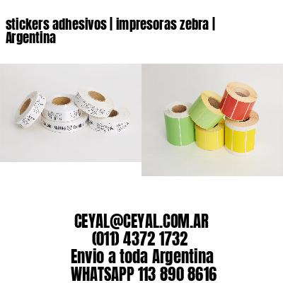 stickers adhesivos   impresoras zebra   Argentina