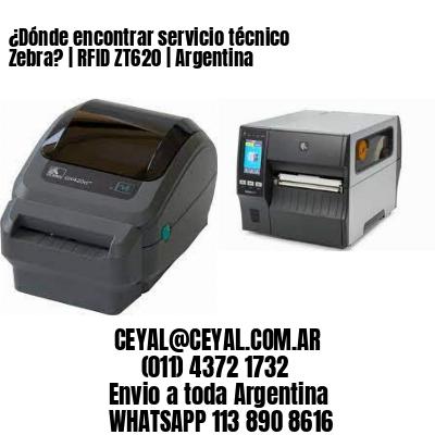 ¿Dónde encontrar servicio técnico Zebra? | RFID ZT620 | Argentina