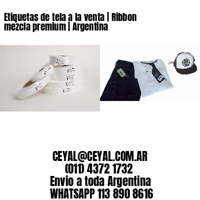Etiquetas de tela a la venta   Ribbon mezcla premium   Argentina