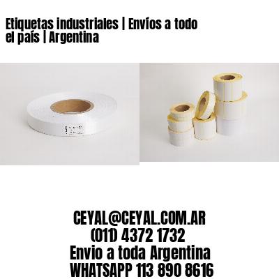 Etiquetas industriales | Envíos a todo el país | Argentina