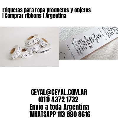 Etiquetas para ropa productos y objetos | Comprar ribbons | Argentina