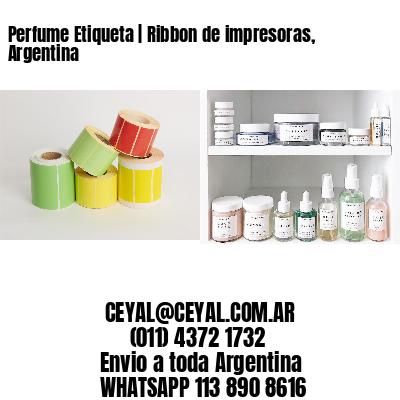 Perfume Etiqueta   Ribbon de impresoras, Argentina
