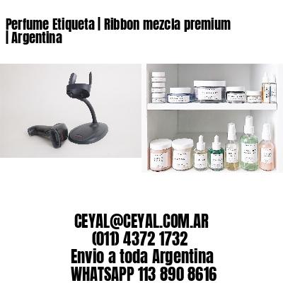 Perfume Etiqueta | Ribbon mezcla premium | Argentina